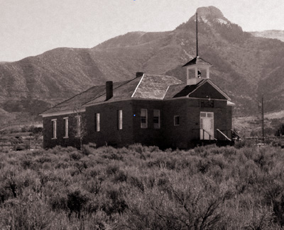 Battlement Mesa schoolhouse
