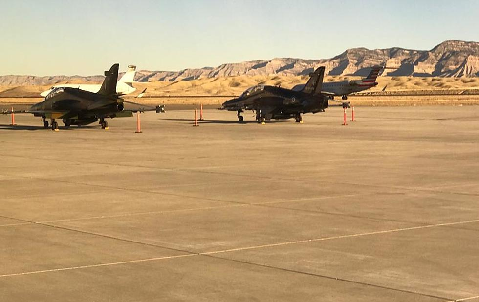 Canadian Jets at GJ Regional Airport