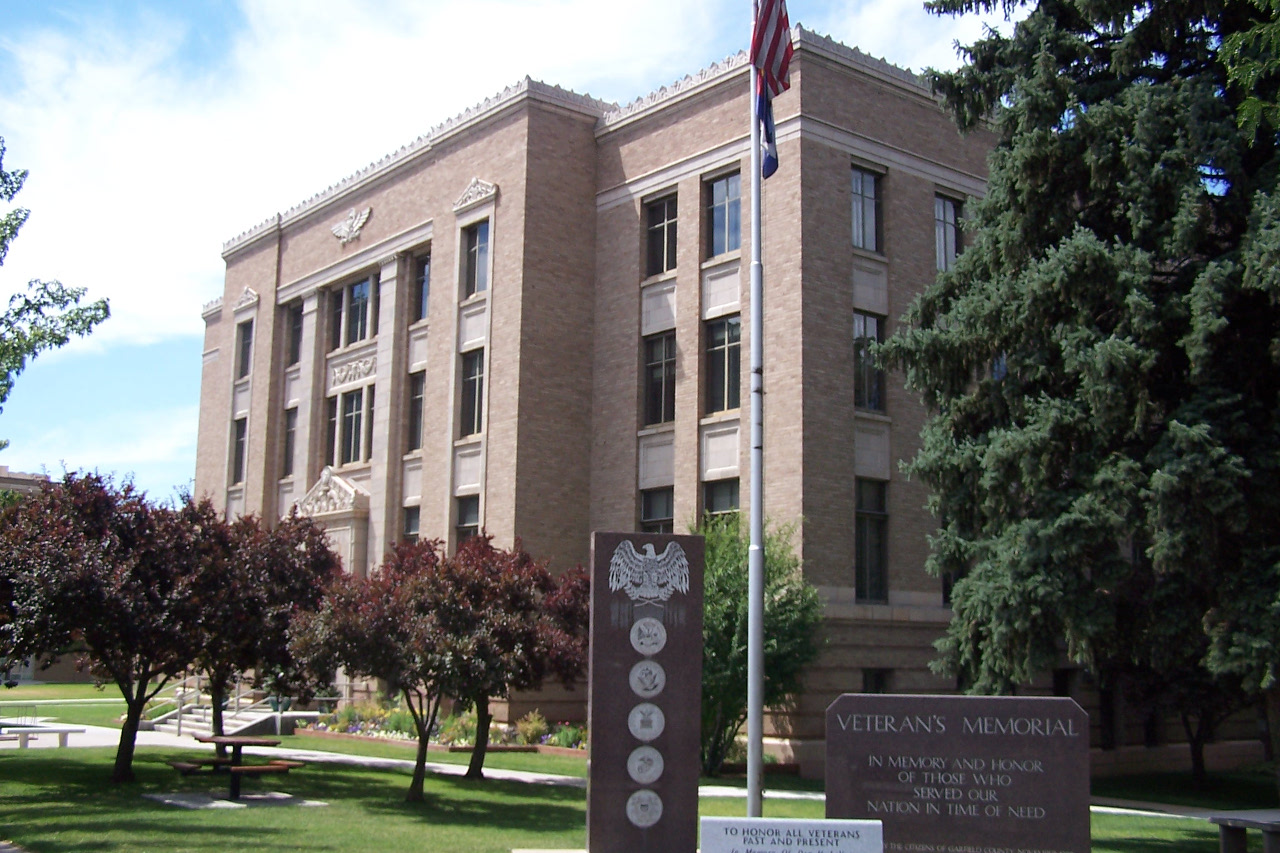 Garfield County Courthouse Glenwood Springs Colorado 1280x853